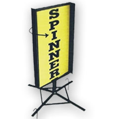 WIND SPINNER SIGN FRAME